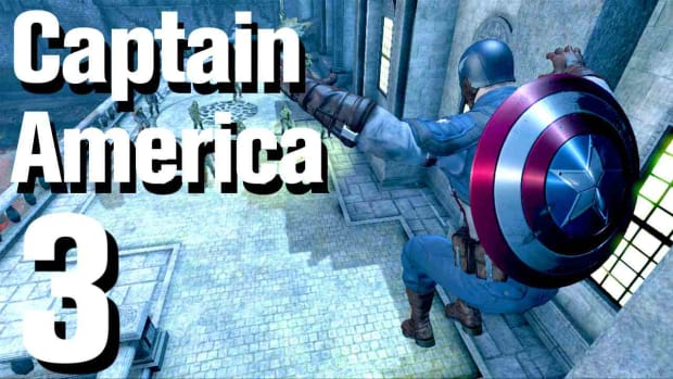 C. Captain America Super Soldier Walkthrough: Chapter 1 (2 of 2) Promo Image