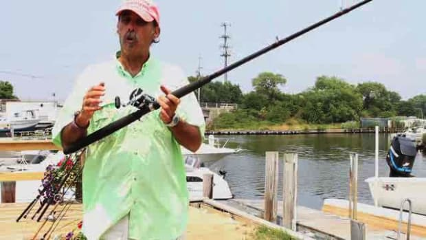D. How to Cast a Conventional Outfit for Saltwater Fishing Promo Image