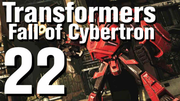 V. Transformers Fall of Cybertron Walkthrough Part 22 - Chapter 8 Promo Image