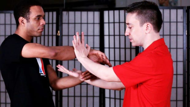 E. How to Do Chi Sau aka Sticking Hands in Wing Chun Promo Image