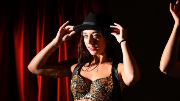 G. How to Do a Hat & Tie Burlesque Dance Promo Image
