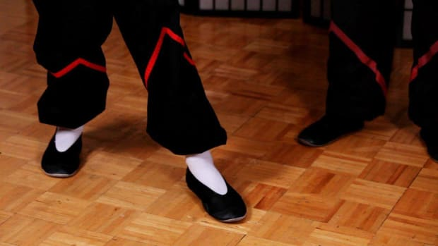 ZG. How to Do a Seung Ma aka Advancing Step in Wing Chun Promo Image