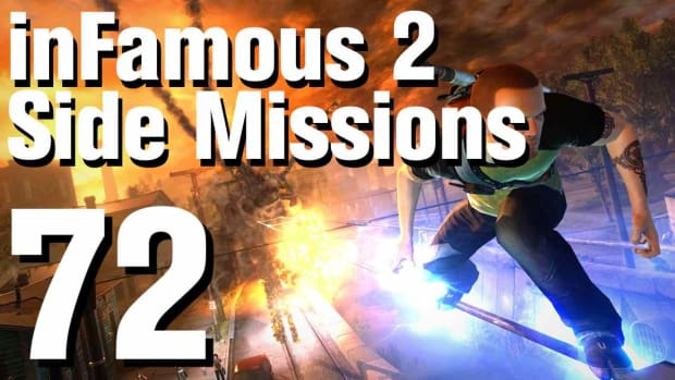 ZZZZL. inFamous 2 Walkthrough Side Missions Part 72: Convoy - Leo Park Promo Image