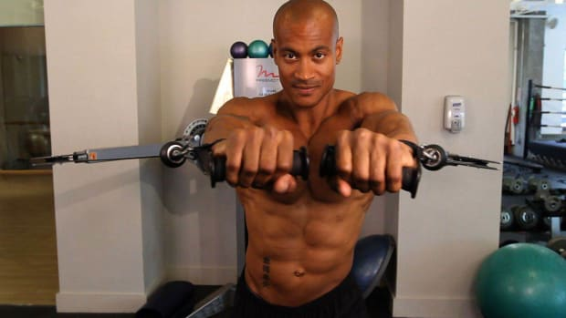 U. How to Do a Cable Chest Press Promo Image