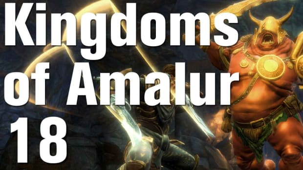 R. Kingdoms of Amalur: Reckoning Walkthrough Part 18 - Saltwell Caverns Promo Image