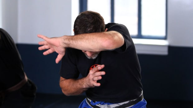 R. How to Do a Krav Maga Outside Defense against Punches, Part 2 Promo Image