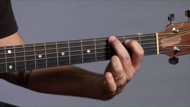ZZU. How to Lead from 1 Chord to Next on Guitar with Bass Notes Promo Image