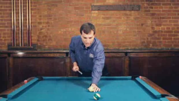 I. How to Make a Draw Shot in Pool Promo Image
