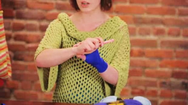V. Proper Posture & Hand Position for Crocheting Promo Image