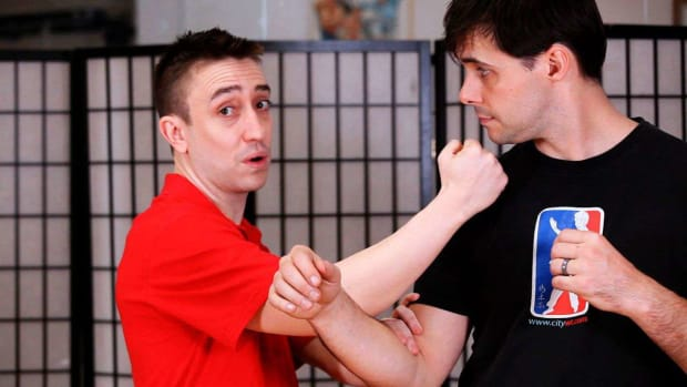 T. How to Do a Paak Sau aka Slapping Hand in Wing Chun Promo Image