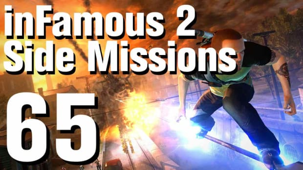 ZZZZE. inFamous 2 Walkthrough Side Missions Part 65: Mercy Kill Promo Image
