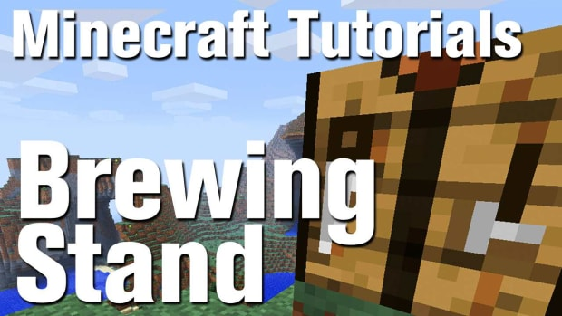 ZT. Minecraft Tutorial: How to Make a Brewing Stand and Potions in Minecraft Promo Image