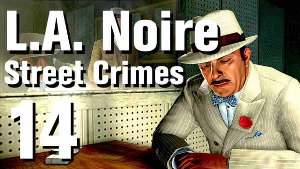 "N. L.A. Noire Walkthrough Street Crimes 14: ""Death Plunge"" Promo Image"