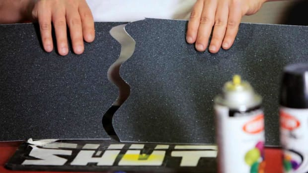 F. How to Cut & Apply a Skateboard Grip Tape Design Promo Image