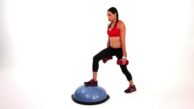 J. How to Do a Leg Workout with a Bosu Ball Promo Image
