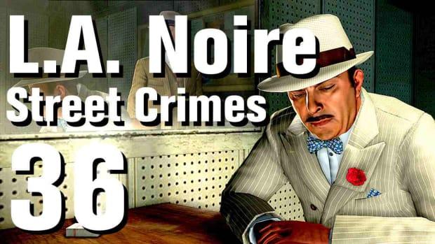 """ZJ. L.A. Noire Walkthrough Street Crimes 36: """"Accident Prone"""" Promo Image"""
