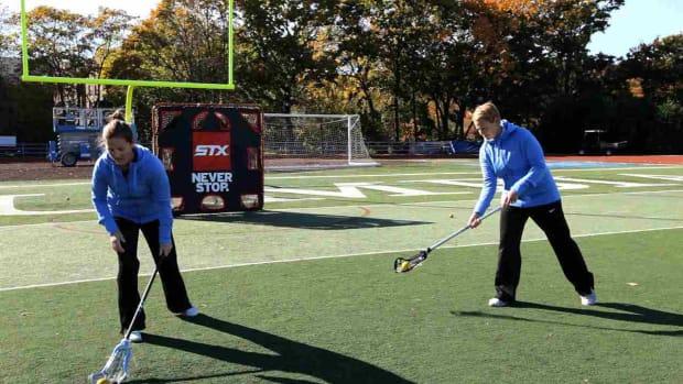 Z. How to Shoot Sidearm in Women's Lacrosse Promo Image