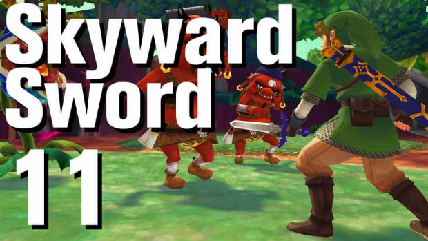 K. Zelda: Skyward Sword Walkthrough Part 11 - Sealed Grounds Promo Image