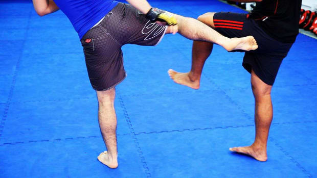 Q. How to Counter Kicks in MMA Fighting Promo Image