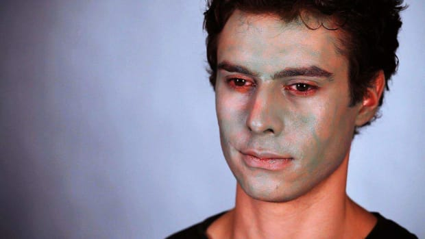 ZK. How to Do the Base for Zombie Special FX Makeup Promo Image