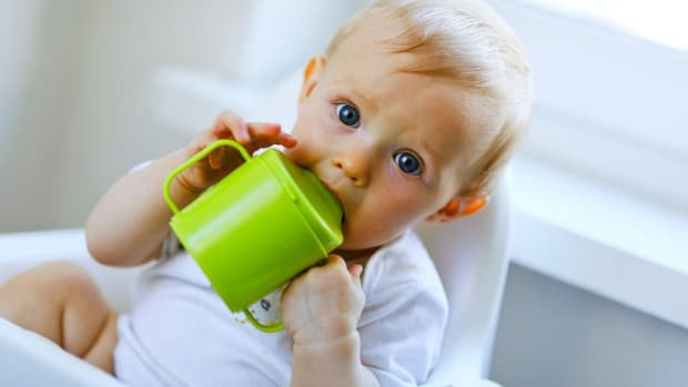 X. How to Know When Baby Should Use a Sippy Cup Promo Image