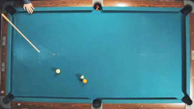 F. How to Make a Cut Shot in Pool Promo Image