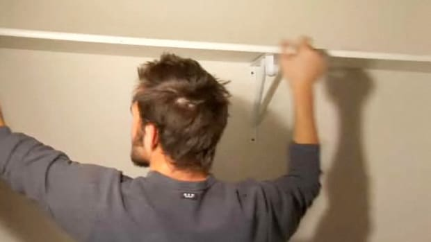 D. How to Install Shelves in Your Closet Promo Image