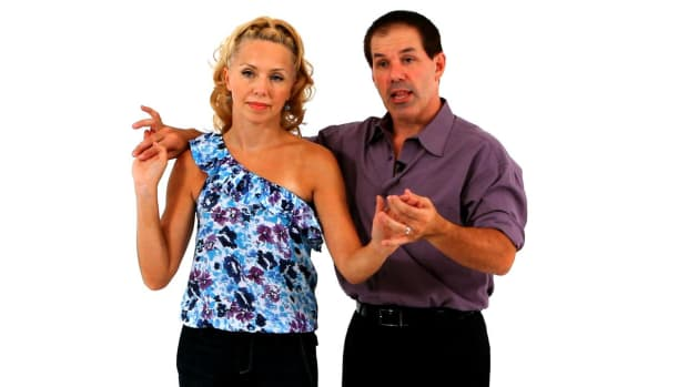 S. How to Do the East Coast Swing Dance Sweetheart Position Promo Image