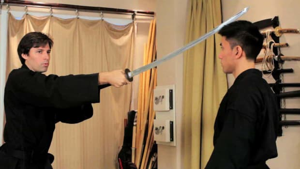 ZS. How to Do a Basic Ninjutsu Sword Cut Promo Image