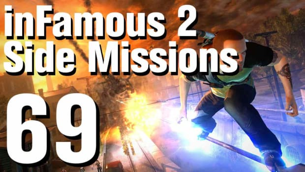 ZZZZI. inFamous 2 Walkthrough Side Missions Part 69: Photo Finish Promo Image