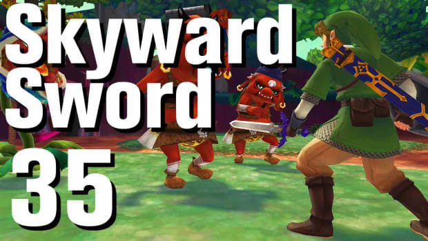ZI. Zelda: Skyward Sword Walkthrough Part 35 - Eldin Volcano Temple Keys Promo Image