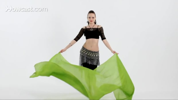 K. How to Use Belly Dancing Veils Promo Image