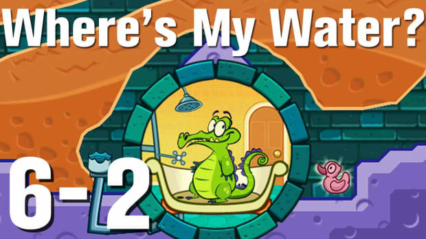 ZZZX. Where's My Water Walkthrough Level 6-2 Promo Image