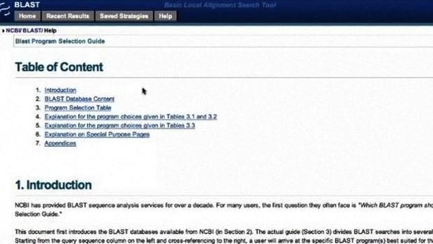 G. How to Use NCBI Blast Promo Image