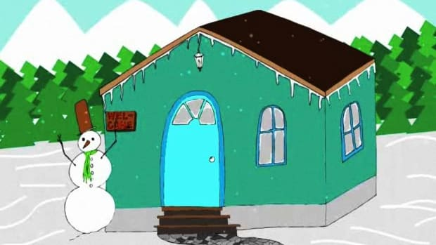 D. How to Turn Your House into a Winter Wonderland Promo Image
