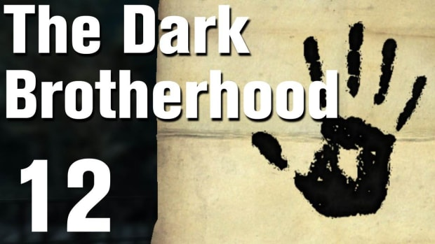 L. Skyrim Dark Brotherhood Walkthrough Part 4 - Sanctuary [Commentary / HD] Promo Image