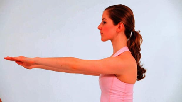 L. How to Do Wall Arms in Pilates Promo Image