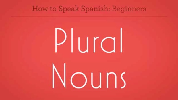 ZZL. How to Make Plural Nouns in Spanish Promo Image
