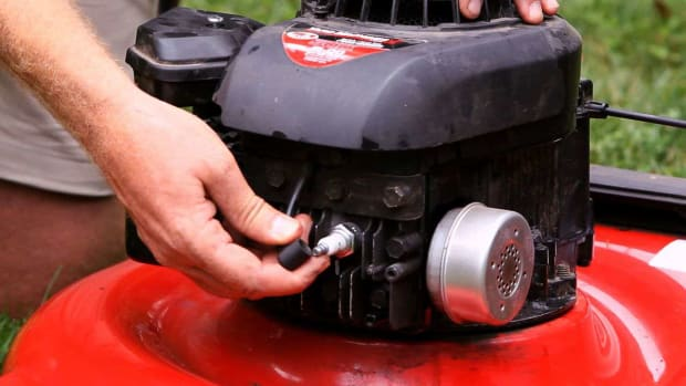 V. How to Tune Up Your Lawn Mower Promo Image
