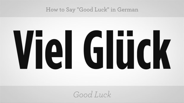 "ZZ. How to Say ""Good Luck"" in German Promo Image"