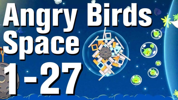 ZA. Angry Birds: Space Walkthrough Level 1-27 Promo Image