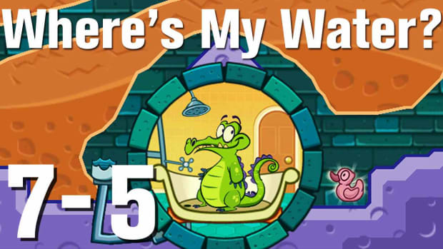 ZZZZU. Where's My Water Walkthrough Level 7-5 Promo Image
