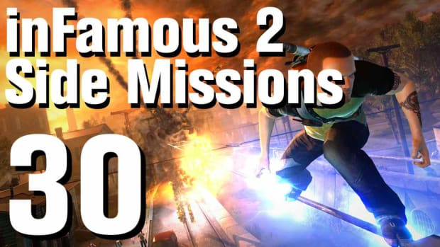 ZZX. inFamous 2 Walkthrough Side Missions Part 30: Enemy Surveillance 1 Promo Image