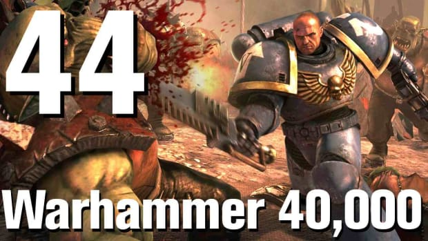 ZQ. Warhammer 40K Space Marine Walkthrough Part 44: The Spire of Madness Promo Image