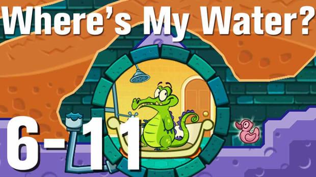 ZZZZG. Where's My Water Walkthrough Level 6-11 Promo Image