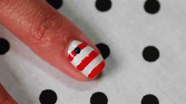 E. How to Create an Anchor Nail Art Design Promo Image