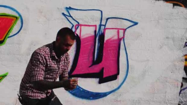 ZE. How to Draw a U in Graffiti Promo Image