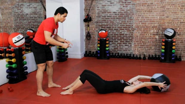 ZA. How to Train Your Core for Kickboxing Promo Image