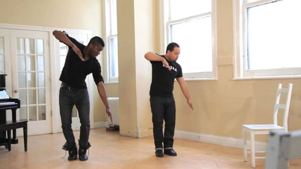R. How to Do an Advanced Power Step Dance Combo Promo Image