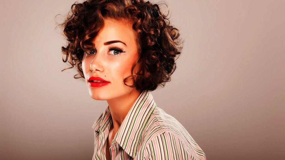 How To Style Short Curly Hair Howcast
